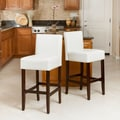Home Loft Concept Walter 29.5'' Bar Stool (Set of 2); White