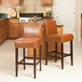 Home Loft Concept Walter 29.5'' Bar Stool (Set of 2); Hazelnut