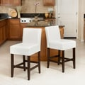Home Loft Concept Walter Counter Bar Stool (Set of 2); White
