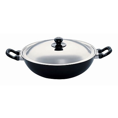 Futura Non-Stick Frying Pan w/ Lid; 12'' Diameter