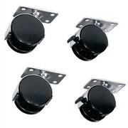 Middle Atlantic RK/ BRK Series optional 4 Wheel Kit; Heavy Duty