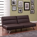 DHP Studio Convertible Futon and Mattress; Brown