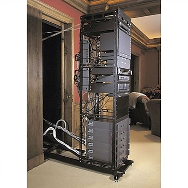 Middle Atlantic SSAX In-wall System for Rackmount, 25'' Ext. Length; 17U Spaces