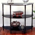 Mega Home Half Moon Console Table