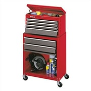 Stack-On 24.13'' Wide 6 Drawer Combination Sets; Red