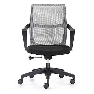 Woodstock Marketing Ravi Mesh Desk Chair; Black