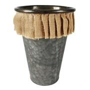 Blossom Bucket Round Pot Planter