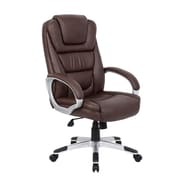 Boss Office Products High-Back Executive Chair with Lumbar Support
