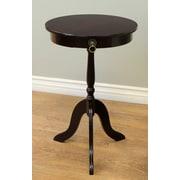 Mega Home Pedestal End Table