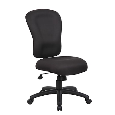 Boss Office Products High-Back Task Chair; No Arms