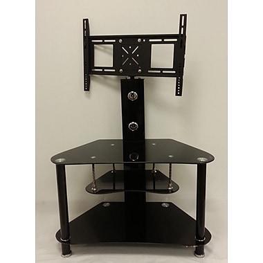 Hodedah Glass 51'' TV Stand