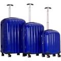 CalPak Casta 3 Piece Luggage Set; Blue