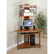 Sauder A-Tower Computer Desk with Hutch