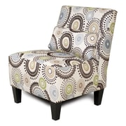 Chelsea Home Armless Accent Chair; Missoni Spa