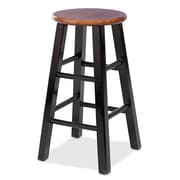 Leick Favorite Finds 29'' Bar Stool (Set of 2); Two-Tone Slate