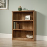 Sauder Select 3 Shelf 44.09'' Standard Bookcase; American Chestnut