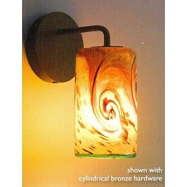 WPT Design Whitney 1 Light Wall Sconce; Bronze