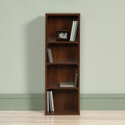 Sauder Beginnings Multimedia Storage Rack; Brook Cherry