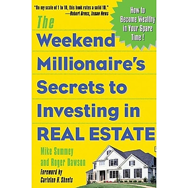 Mcgraw hill the weekend millionaire 39 s secrets to for Mcgraw hill real estate
