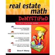 mcgraw hill real estate math demystified paperback book