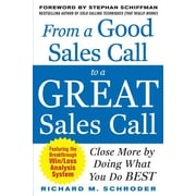 "McGraw-Hill ""From a Good Sales Call to a Great Sales Call"" Paperback Book"