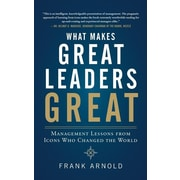 "McGraw-Hill ""What Makes Great Leaders Great"" Hardcover Book"