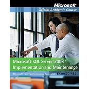"""John Wiley & Sons """"Microsoft SQL Server 2008 Implementation and Maintenance"""" Book"""