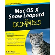 "For Dummies® ""Mac OS X Snow Leopard For Dummies"" Book"
