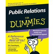 "For Dummies® ""Public Relations For Dummies"" Book"