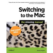 "O'Reilly Media® ""Switching to the Mac: The Missing Manual, Snow Leopard Edition"" Book"