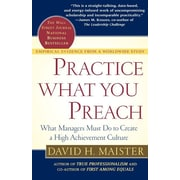 "Free Press ""Practice What You Preach"" Paperback Book"