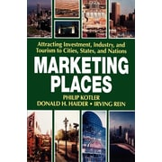 """Free Press """"Marketing Places """" Paperback Book"""