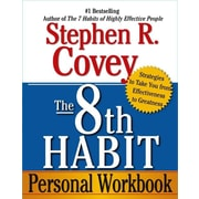 """Free Press """"The 8th Habit Personal Workbook"""" Paperback Book"""
