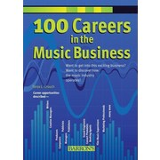 "Barron's Educational Series ""100 Careers in the Music Business"" Paperback Book"