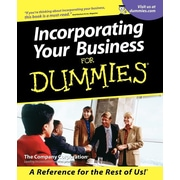 "For Dummies® ""Incorporating Your Business For Dummies"" Book"