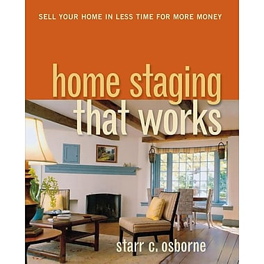 amacom home staging that works paperback book staples. Black Bedroom Furniture Sets. Home Design Ideas