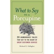 "Amacom ""What to Say to a Porcupine"" Paperback Book"