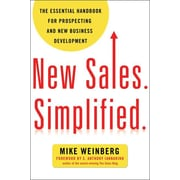 "Amacom ""New Sales. Simplified."" Paperback Book"