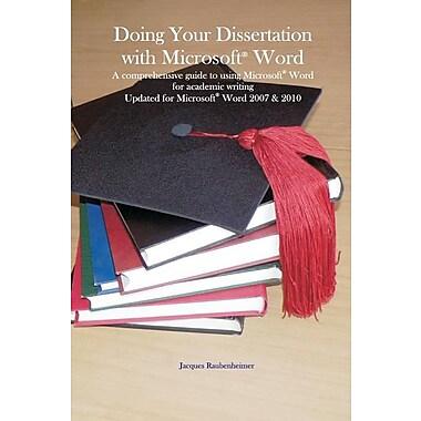Publishing your dissertation ebook