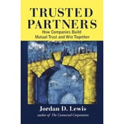 """Free Press """"Trusted Partners"""" Paperback Book"""