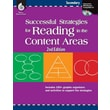 Shell Education in.Successful Strategies for Reading in the Content..in. Paperback Book, Grade 6th-12th
