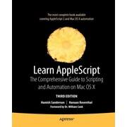 "Apress® ""Learn AppleScript"" Book"
