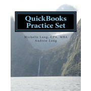 "Createspace™ ""QuickBooks Practice Set"" Paperback Book"