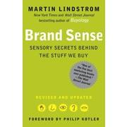 """Free Press """"Brand Sense"""" Paperback Book"""