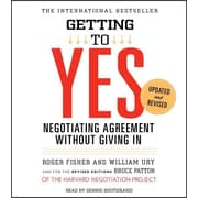 "Simon & Schuster ""Getting to Yes: How to Negotiate Agreement Without Giving In"" Audio CD"