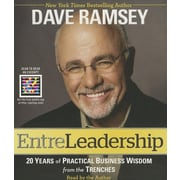 """Simon & Schuster """"Entreleadership: 20 Years of Practical Business Wisdom from.."""" Audio CD"""