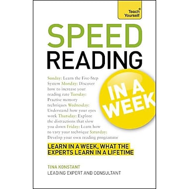book review the speed reading book