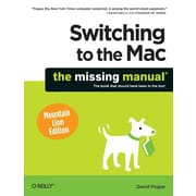 """O'Reilly Media® """"Switching to the Mac: Mountain Lion Edition"""" Book"""