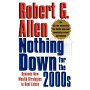 """Free Press """"Nothing Down for the 2000s"""" Paperback Book"""