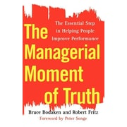 """Free Press """"The Managerial Moment of Truth"""" Paperback Book"""